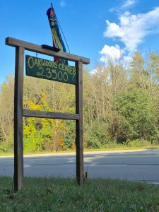 Oakwoods Sign